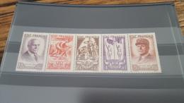 LOT 296854 TIMBRE DE FRANCE NEUF** N�580A VALEUR 155 EUROS
