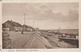 1918  Giurgiu  Debarcaderul La Ramadan - Roumanie
