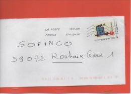 TIMBRE   20 GRS  SUR LETTRE L ORDRE DE MALTE - France