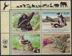 2002 UNO  Wien   Mi.  357-0**MNH  Gefährdete Arten - Ungebraucht