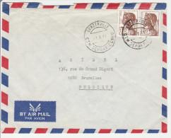 Brazzaville 1991 CTM Départ Congo - Lettre Cover Brief - Congo - Brazzaville