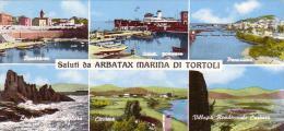 ARBATAX  OGLIASTRA  MARINA DI TORTOLI (6 IMMAGINI) BABY CARTOLINA - Cagliari
