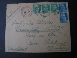 == France Cv. 1948 Mit Inhalt - Francia