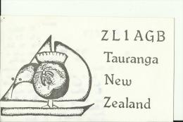 QSL CARD   --   NEW ZEALAND - QSL-Karten
