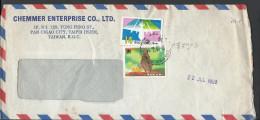 Republic Of China Taiwan 1990 Postal History Cover Sent To Pakistan. - 1949 - ... République Populaire