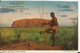 QSL CARD   --    AUSTRALIA - QSL-Karten