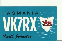 QSL CARD   --    AUSTRALIA  --  TASMANIA - QSL-Karten