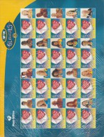 SOUTH AFRICA, 2000, MNH Sheet Of Stamps , Gladiators,  Sa 1341, #9139 - South Africa (1961-...)