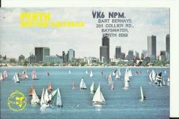 QSL CARD   --    AUSTRALIA  --  PERTH - QSL-Karten