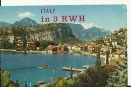 QSL CARD   --    ITALIA  --  TORBOLE, LAGO DI GARDA - QSL-Karten