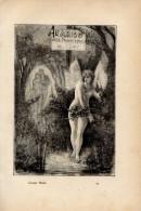 Poesia ALL'AMICO NELLA PRIMAVERA DEL 1841 Di GIUSEPPE GIUSTI Con 1 FOTOINCISIONE ORIGINALE - OTTIMO STATO - Libri, Riviste, Fumetti