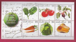 SOUTH AFRICA, 2011, Mint Never Hinged, Sheet Of Stamps , Green Awareness, Sa 2197, #9267 - Unused Stamps
