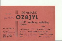 QSL CARD   --    DENMARK - QSL-Karten