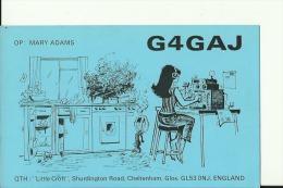 QSL CARD   --    ENGLAND - QSL-Karten
