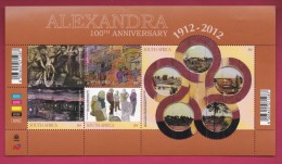 SOUTH AFRICA, 2012, Mint Never Hinged, Sheet Of Stamps , Alexandra , Sa 2231, #9308 - Unused Stamps