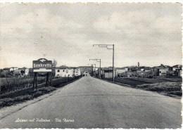 Veneto-rovigo-ariano Nel Polesine Via Nuova Veduta Panoramica Anni 50 - Italia