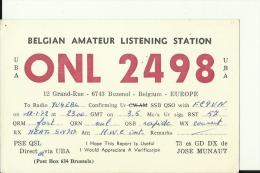 QSL CARD   --    BELGIE - QSL-Karten