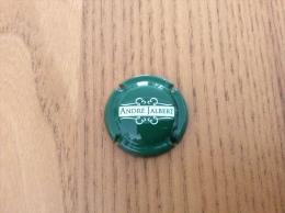 """Capsule De Cidre * """"ANDRÉ JALBERT"""" (blanc Sur Fond Vert) - Other"""