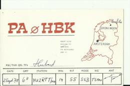 QSL CARD   --   HOLLAND - QSL-Karten