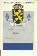 QSL CARD   --   HOLLAND, NEDERLAND  --  NORD BRABANT - QSL-Karten