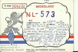 QSL CARD   --   HOLLAND, NEDERLAND - QSL-Karten