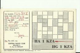 QSL CARD   --   HUNGARY - QSL-Karten