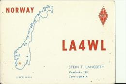 QSL CARD   --   NORWAY - QSL-Karten