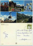 Schweiz - Zinal - Used 1992 - Stamp - Non Classés
