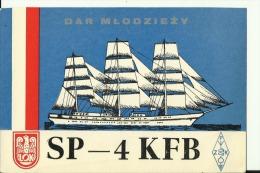 QSL CARD   --   POLAND  --  SUWALKI - QSL-Karten