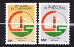 COTE D IVOIRE  N� 625 / 626 NEUF**LUXE SANS TRACE DE CHARNIERE
