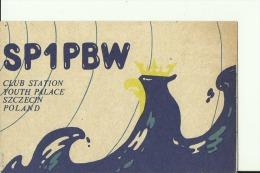 QSL CARD   --   POLAND  --  SZCZECIN - QSL-Karten