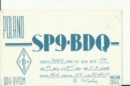 QSL CARD   --   POLAND  --  BYTOM - QSL-Karten