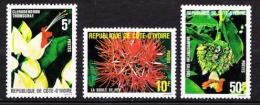 COTE D IVOIRE  N� 523 / 524 / 525  NEUF** SANS TRACE DE CHARNIERE