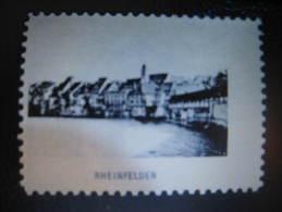 RHEINFELDEN Vignette Poster Stamp Label Switzerland Suisse - Non Classés