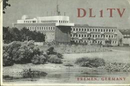 QSL CARD   --   DEUTSCHLAND  --  BREMEN  --  1964 - QSL-Karten