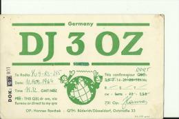 QSL CARD   --   DEUTSCHLAND - QSL-Karten