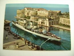 TARANTO   NAVE  CENTAURO   SHIP   MARINA  MILITARE  WARSHIP  VIAGGIATA COME DA FOTO - Guerra