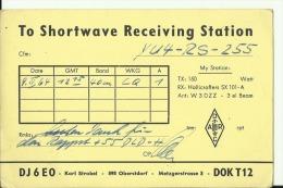 QSL CARD   --   DEUTSCHLAND  --   OBERSTDORF - QSL-Karten
