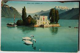 LAC LEMAN, (SUISSE, Vaud), Ile De Salagnon - VD Vaud