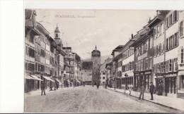 WALDSHUT - Hauptstrasse  -  Novembre 1908 - Waldshut-Tiengen