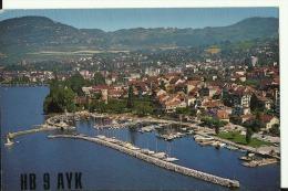QSL CARD   --   SWITZERLAND   --  LA TOUR DE PELIZ  --  VEVEY - QSL-Karten