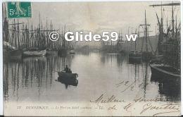 DUNKERQUE - Le Port Au Soleil Couchant (animée) - N° 73 (2) - Dunkerque