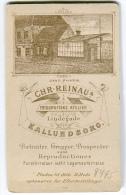 DENMARK Danmark Kalundborg Topografi Chr. Reinaus Fotografiske Atelier Rückseite CDV Visitkortstørrelse C. 1900 - Fotos