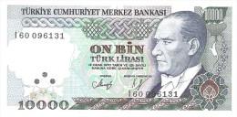 Turkey - Pick 199 - 10.000 Lira 1982 - VF++ - Turchia