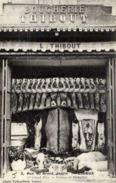 14 LISIEUX - Devanture Boucherie THIBOUT, 3 Rue Du Grand Jardin - Très Gros Plan - Lisieux