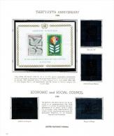 Vereinte Nationen UNO Wien Kleine Sammlung Aus 1980-1989 Postfrisch MNH - Centre International De Vienne