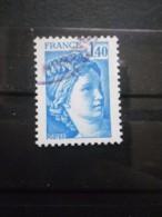 FRANCE Type Sabine De Gandon N°1975 Oblitéré - 1977-81 Sabine De Gandon