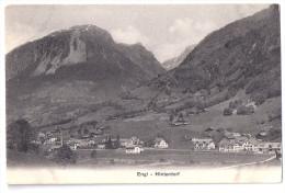 ENGI: Hinterdorf Mit Industrie ~1910 - GL Glaris