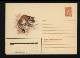 USSR 1980 Postal Cover Fauna Garden Dormouse (012) - Autres
