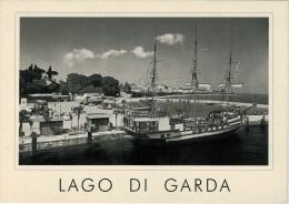 LAGO  DI  GARDA   1960   PESCHIERA  DEL GARDA     MAXI CARD 15X17    (NUOVA) - Altre Città
